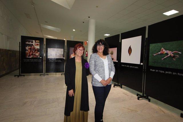 Exposición de Punctum en el aeropuerto de Lanzarote