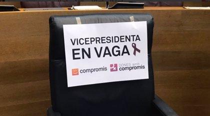 Oltra y ocho altos cargos del Gobierno valenciano, ausentes en la reunión preparatoria del Pleno del Consell por el 8M
