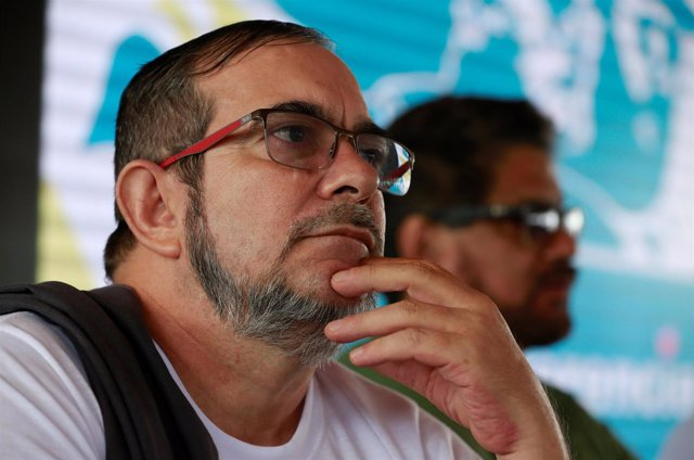 Revolutionary Armed Forces of Colombia (FARC) rebel commander Rodrigo Londono, b