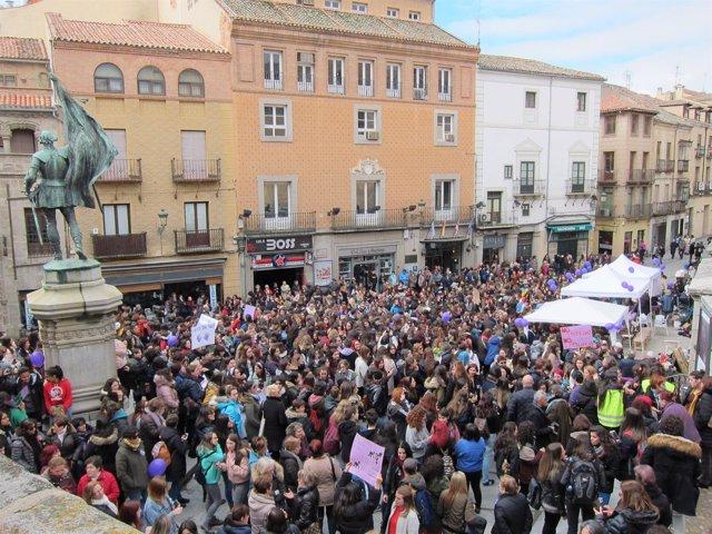 Concentración En Segovia