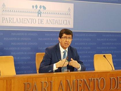 """Cs descarta sumarse al acuerdo de financiación: """"A otros les preocupa más la foto que defender Andalucía"""""""