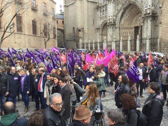 Concentración en Toledo