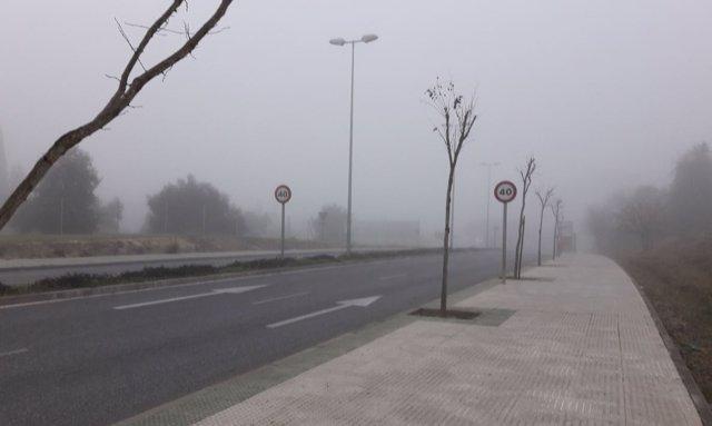 Calle con viento