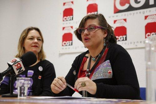 CGT Huelga feminista