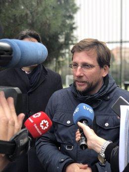 José Luis Martínez Almeida, portavoz del PP en el Ayuntamiento de Madrid