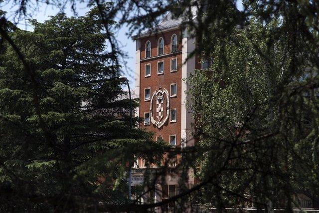 Edificio de rectorado de la UCM