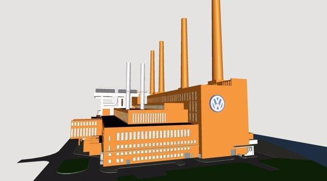 Futura central eléctrica del grupo Volkswagen