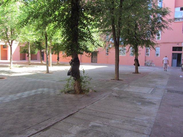 La junta licita la reurbanizaci n de los pisos rosas de alcal de guada ra sevilla con un - Pisos de la junta de andalucia ...