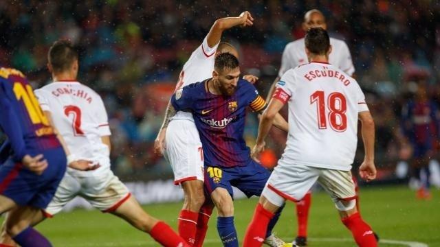 Messi en el Barcelona - Sevilla