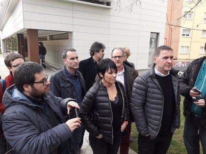 """Otegi dice que """"hay que acabar urgentemente con la conculcación de derechos"""" de presos de ETA y sus familias"""