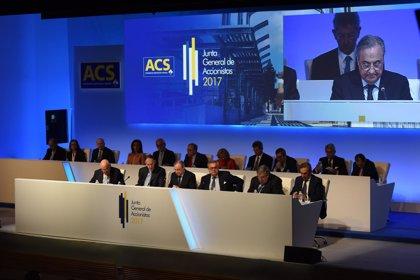 ACS se dispara un 7% en Bolsa al buscar con Atlantia una solución pactada para Abertis