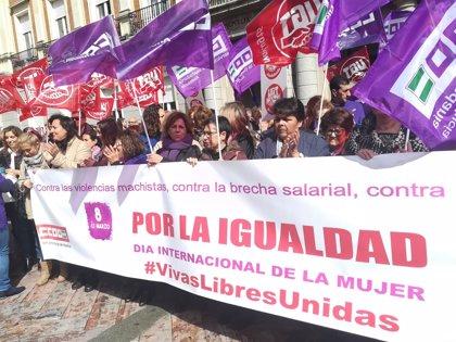 CCOO asegura que el 60% de las mujeres trabajadoras en Huelva secundan la huelga
