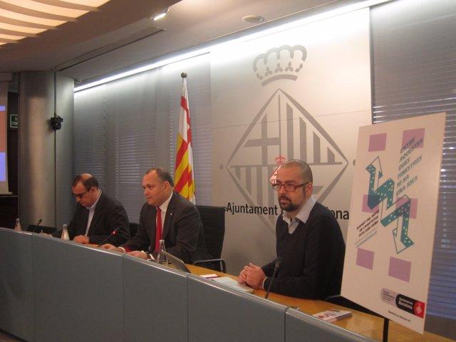 Carles Agustí (en el centro) en una imagen de archivo.