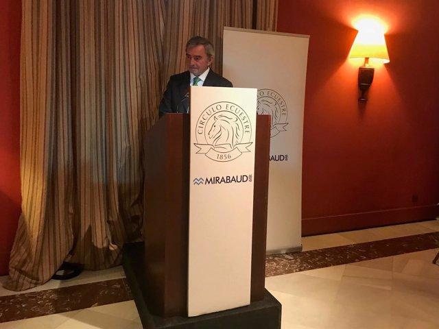 Javier Vega de Seoane, presidente del Círculo de Empresarios