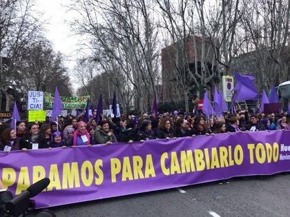 Arranca en Madrid la manifestación del Día Internacional de la Mujer