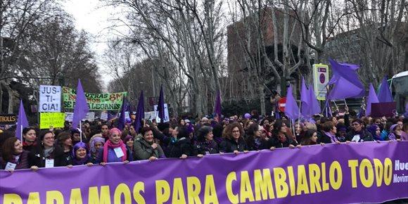 8. Arranca en Madrid la manifestación del Día Internacional de la Mujer