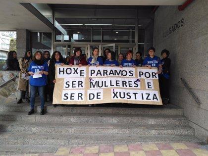 Ferrol acoge protestas, paros y actos institucionales en la jornada de paro feminista