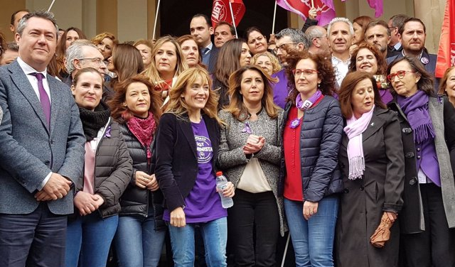 Sevilla celebra el 8M