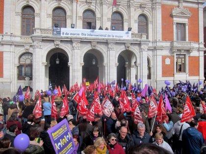 """CCOO y UGT consideran """"histórica"""" la huelga, secundada en CyL por 250.000 trabajadores"""
