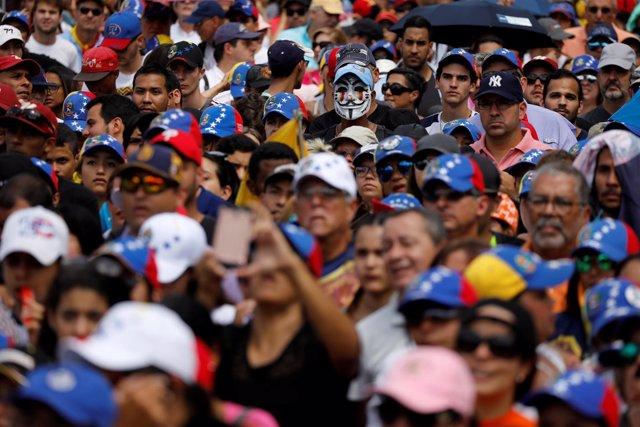 Protestas contra el Gobierno de Nicolás Maduro en Venezuela