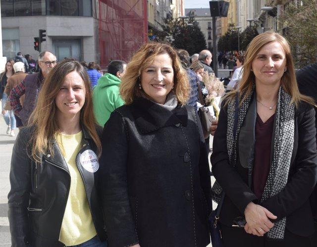 Dirigentes del PSOE de Cantabria