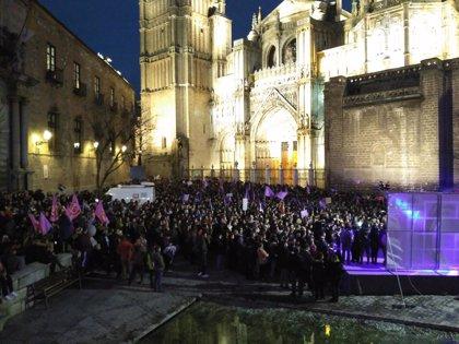 """Miles de personas se manifiestan en C-LM por el Día de la Mujer reclamando """"igualdad real"""" entre hombres y mujeres"""