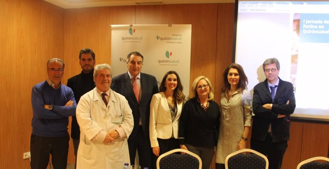 I Jornada de Retina de los hospitales Quirónsalud de Sevilla