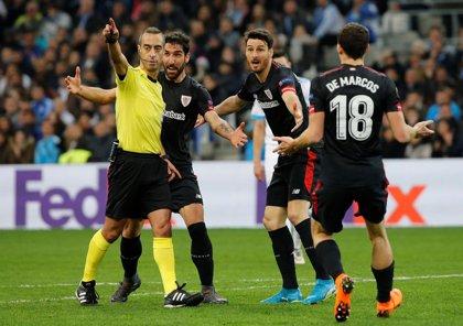 El Athletic se empequeñece en Marsella