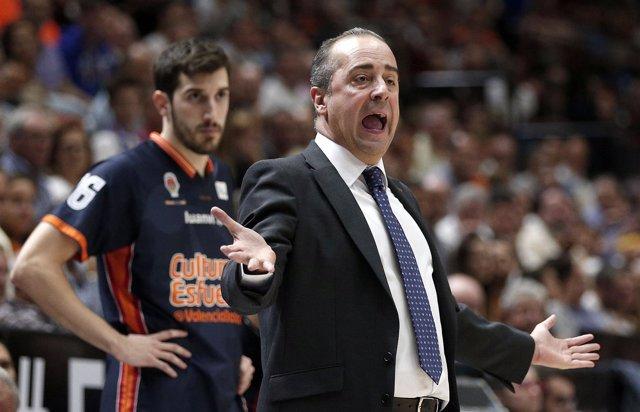 Txus Vidorreta (Valencia Basket)