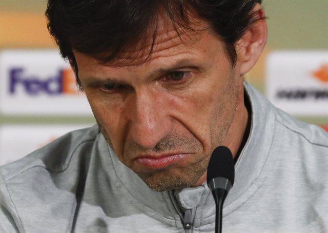 José Ángel 'Cuco' Ziganda, entrenador del Athletic Club de Bilbao