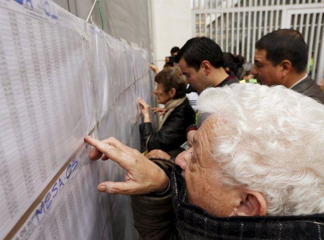 Elecciones regionales y locales en Bogotá Colombia