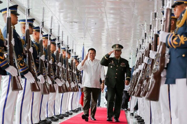 Rodrigo Duterte, en una visita a Vietnam