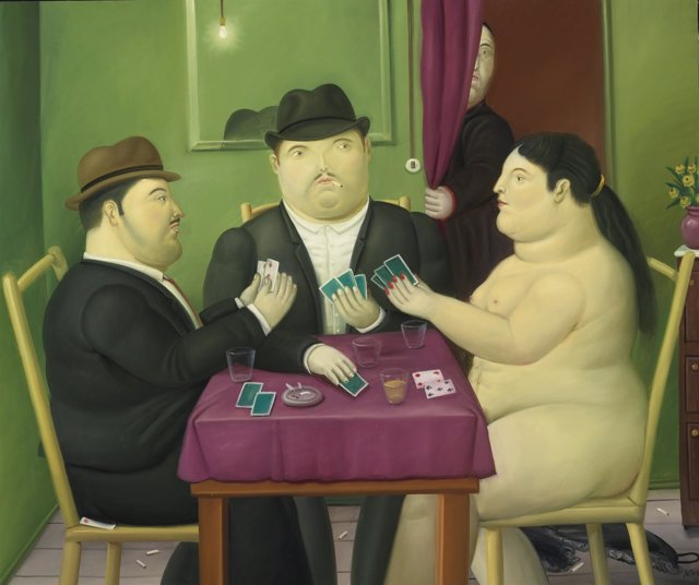 Cuadro de Fernando Botero