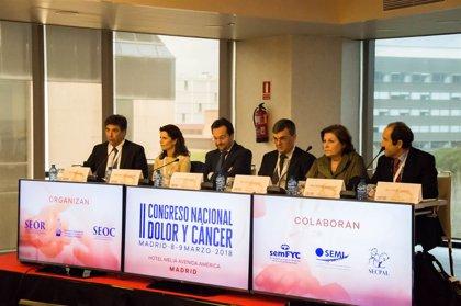 Oncólogos advierten que el 30% de los pacientes de cáncer necesitan un tratamiento con opioides para el dolor irruptivo