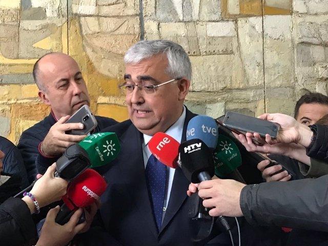 El consejero de Economía, Antonio Ramírez de Arellano.