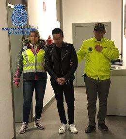 """Nota De Prensa """"Detenido En Madrid El Líder De Una Red De Narcotraficantes Sobre"""