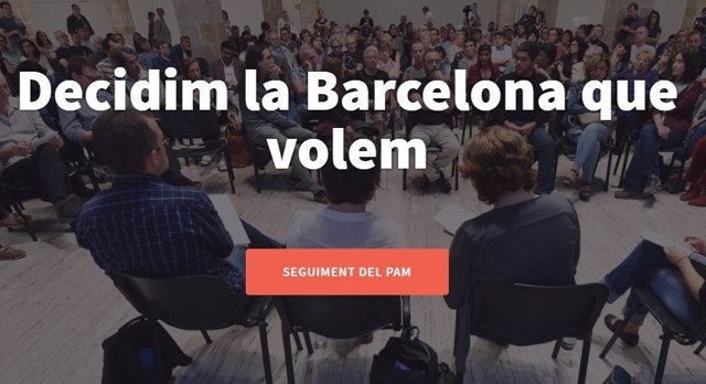 Herramienta de seguimiento del PAM en Decidim.Barcelona