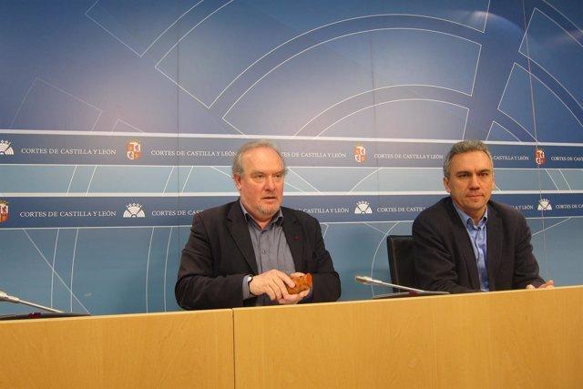 Martín e Izquierdo analizan la ejecución del presupuesto de la Junta