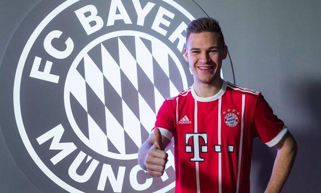 Joshua Kimmich renueva su contrato con el Bayern Múnich