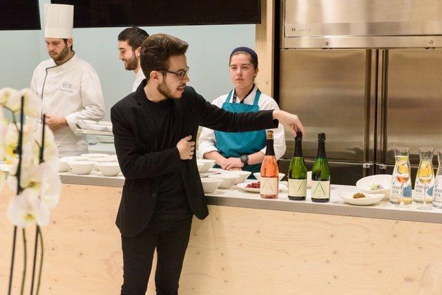 Cenas maridadas en el Basque Culinary Center