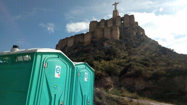 Imagen del entorno del Castillo de Monteagudo
