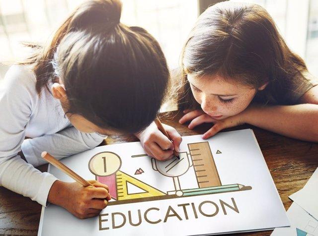 Educación, niños, aprendizaje, escuela, colegio
