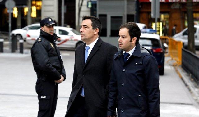 El exdirector de los Mossos Pere Soler llega a la Audiencia Nacional