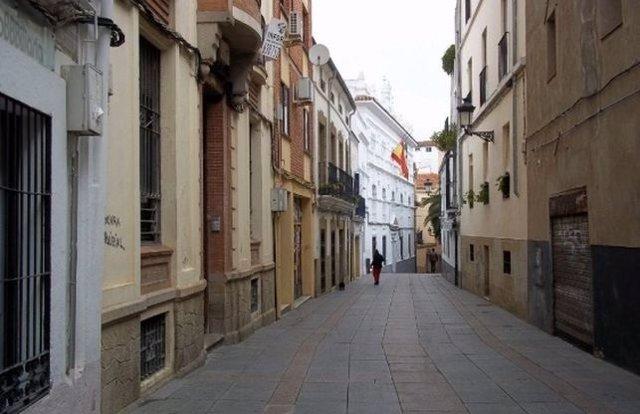 Calle Pizarro de Cáceres