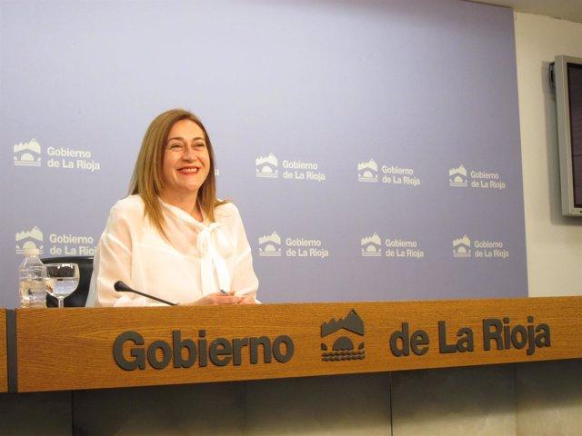 La portavoz del Gobierno Begoña Martínez