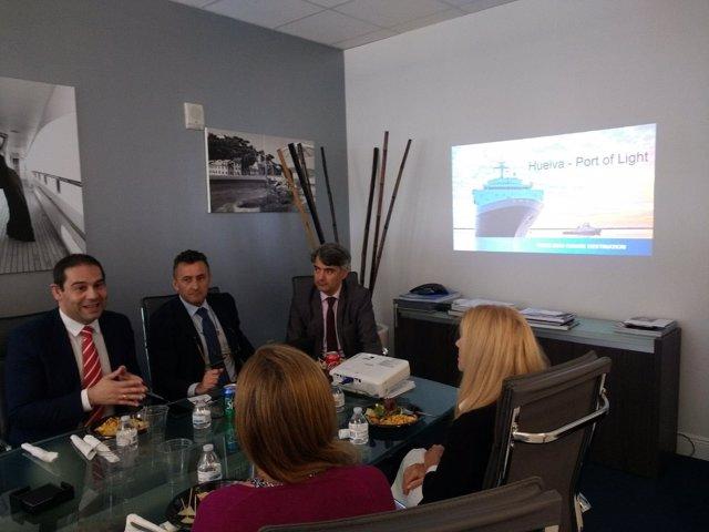 Misión Comercial Del Puerto De Huelva En El Seatrade de Miami