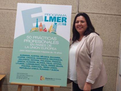 La Diputación convoca 50 becas Elmer dirigidas a desempleados para estancias profesionales en la UE