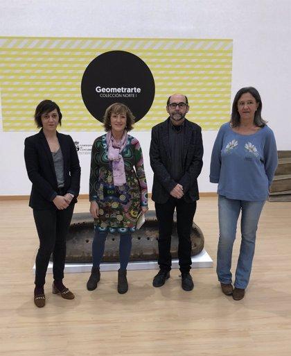 La Biblioteca Central acoge 'Geometrarte', una muestra con 47 piezas sobre arte y matematicas
