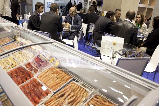 Encuentros entre compradores y proveedores en Seafood Barcelona