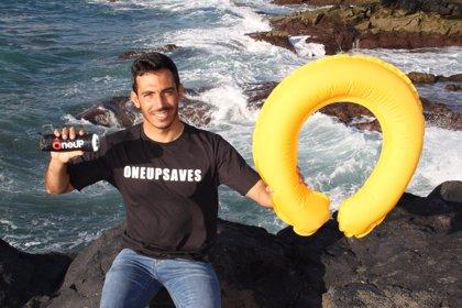Un canario inventa OneUp Saves, un aro salvavidas que busca evitar ahogamientos
